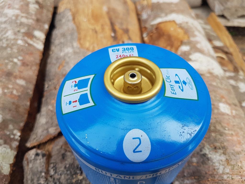 Cartouche de gaz à valve Campingaz