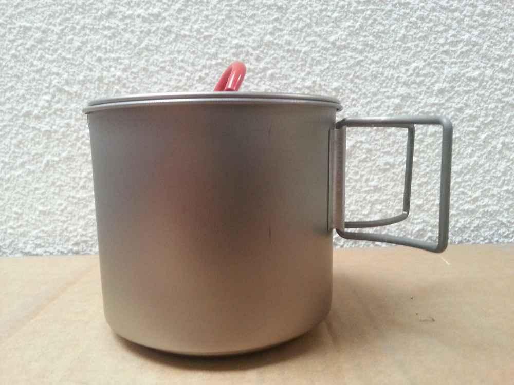 Popote Ti Mug Pot 500