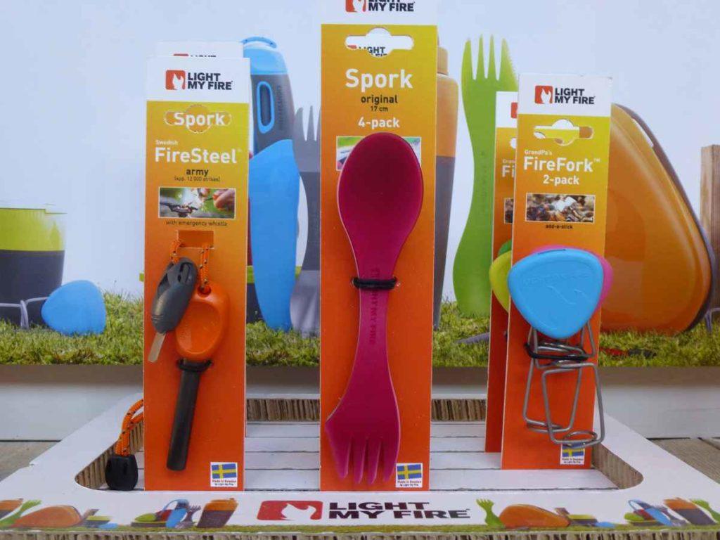 Cuillère-fourchette-couteau Spork