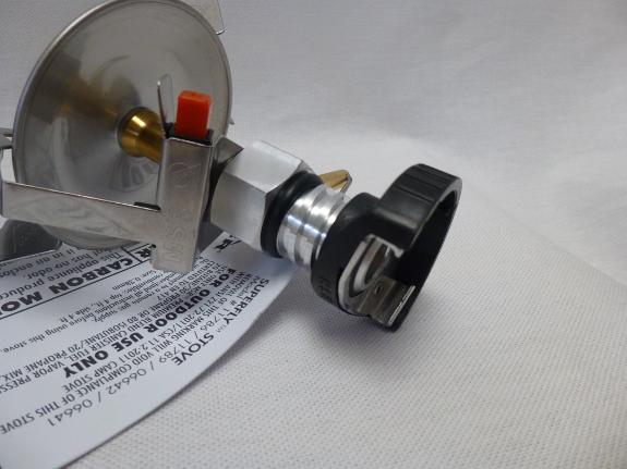 Système compatible valve filetée et non filetée.