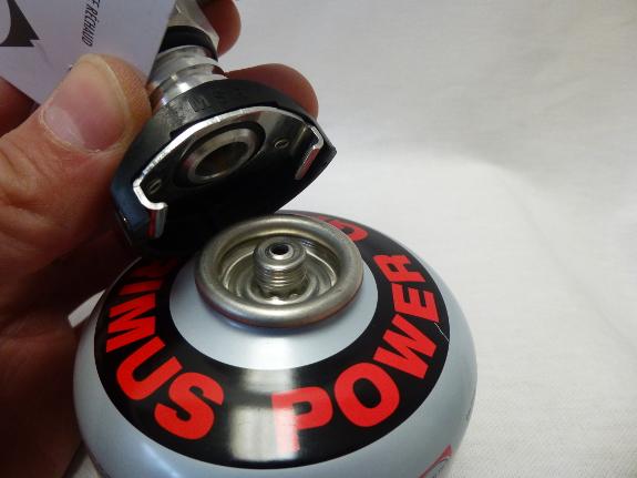 Réchaud MSR avec valve Duo