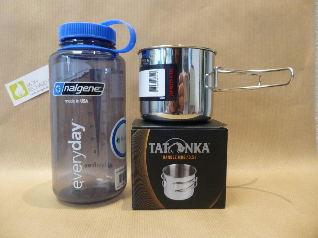 Mug Tatonka + Gourde Nalgene