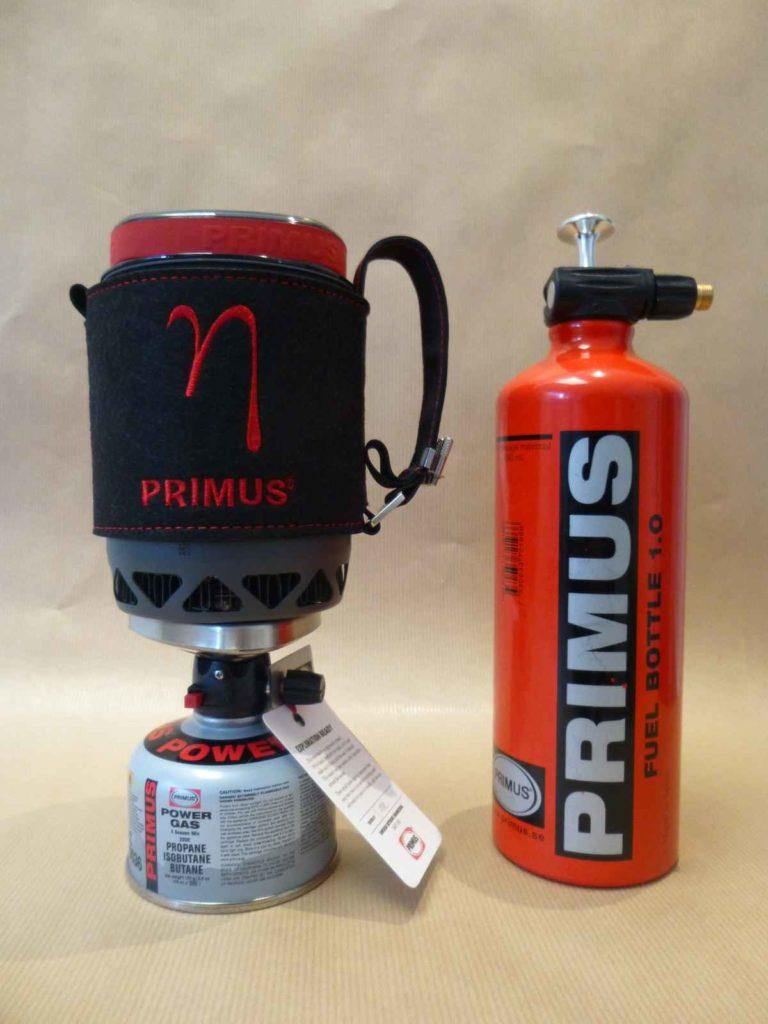 Comparatif Eta lite et bouteille Primus