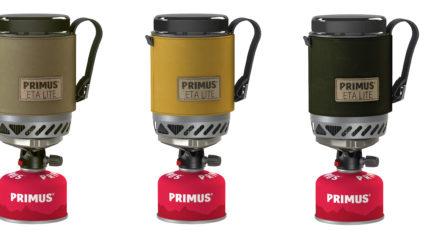 Primus Lite+ et Eta Lite en couleurs