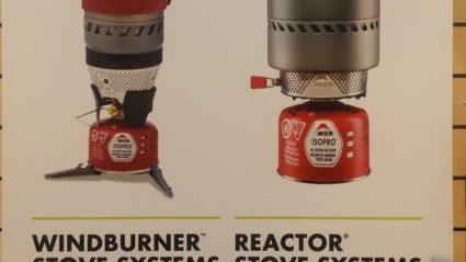Réchauds MSR : Windburner VS Reactor
