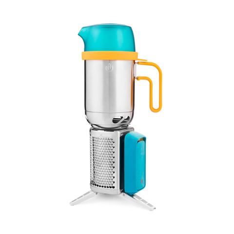 Le réchaud CookStove est compatible avec la KettlePot de Biolite