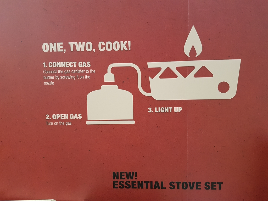 Essential Stove Set : simple, efficace et optimisé