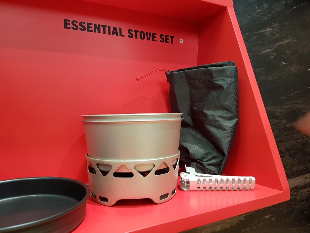 Réchaud + casserole Essential Stove Set