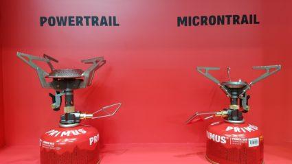Réchauds à gaz Primus Powertrail et Microntrail