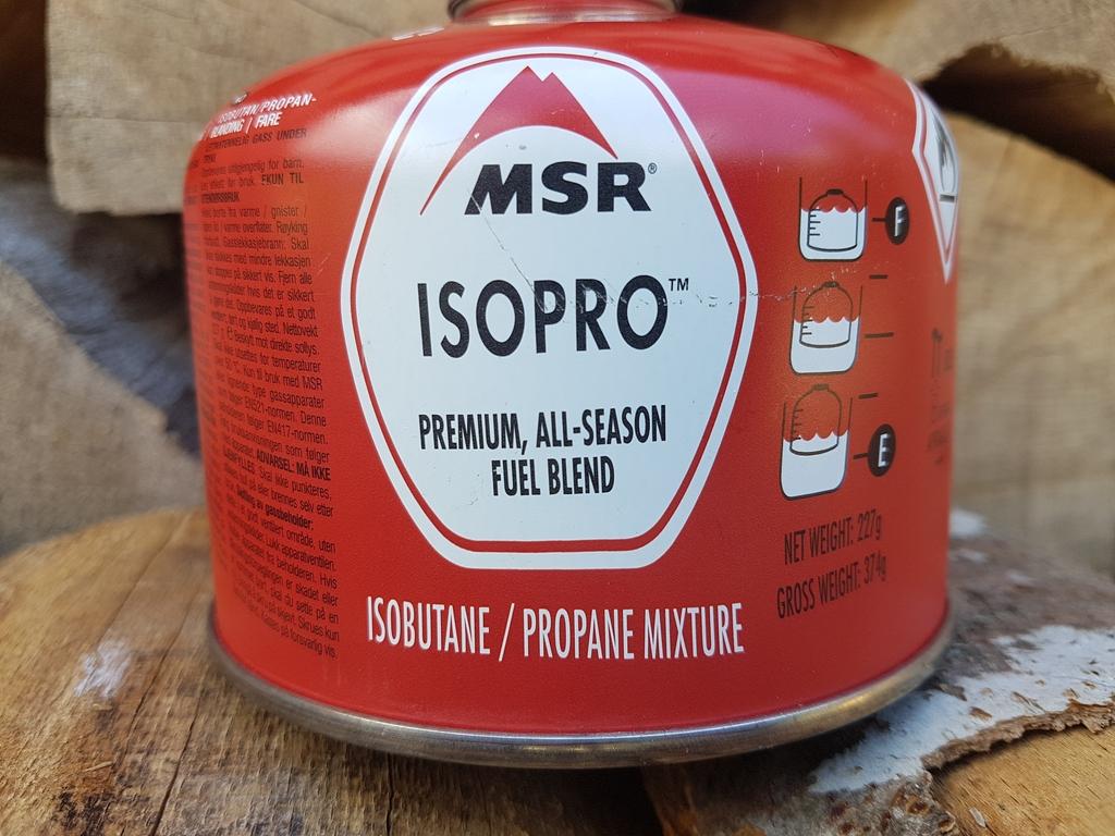 Cartouche de gaz Isopro : mélange Isobutane / Propane