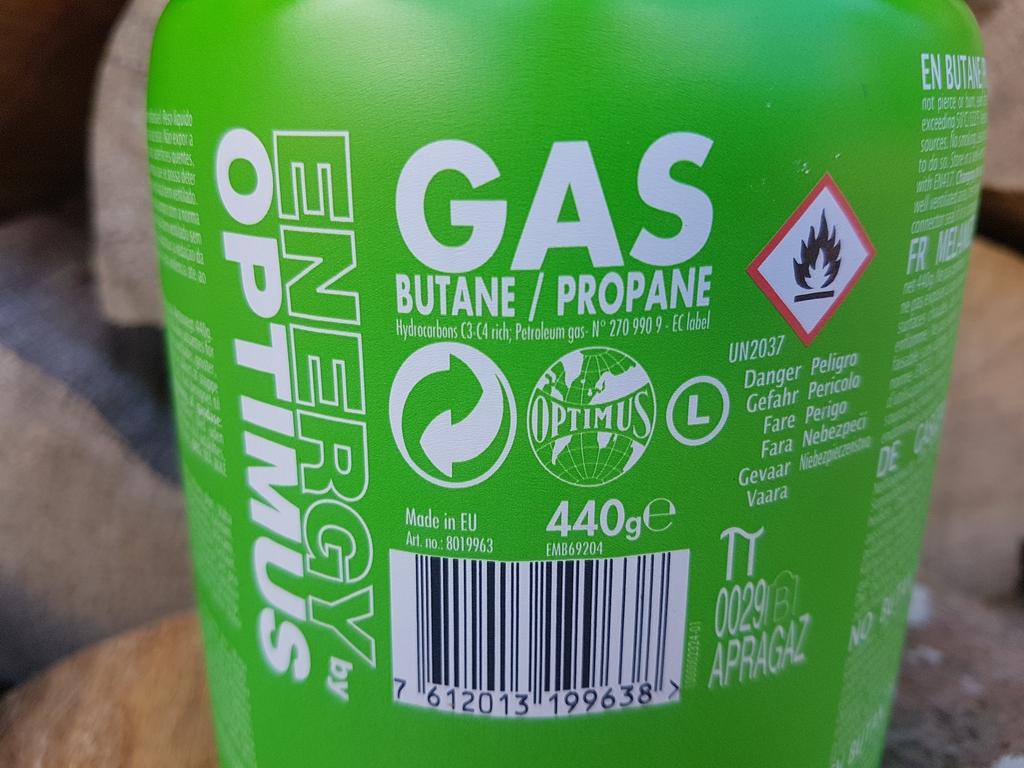 Cartouche Optimus Energy : mélange butane / propane