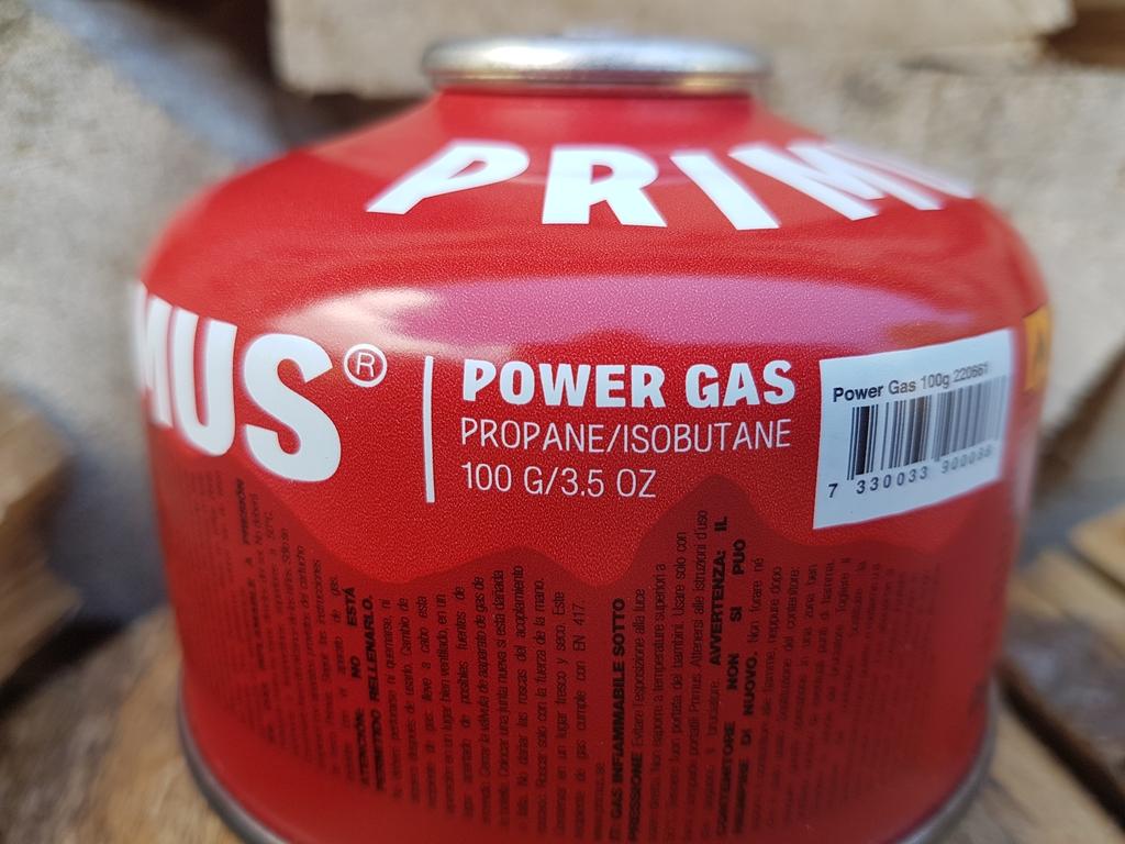 Cartouche Primus Power Gas : mélange Butane / Propane / isobutane - Utilisation toute l'année