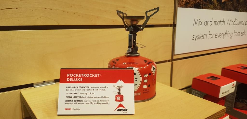 Nouveauté 2019 : le réchaud Msr Pocket Rocket Deluxe