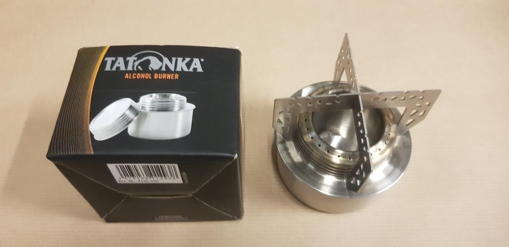 S'adapte sur le brûleur à alcool Tatonka